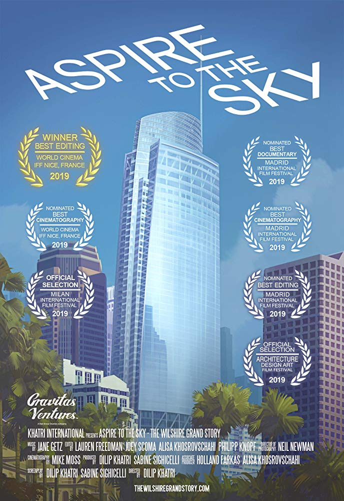 Aspire to the Sky Poster